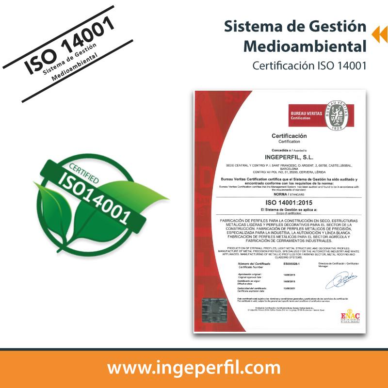 ingeperfil ISO 14001