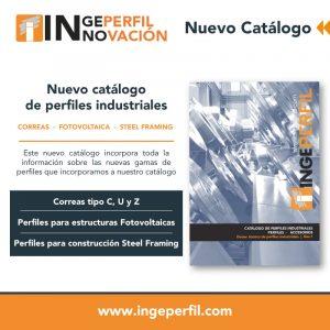 Nuevo catalogo perfiles industriales